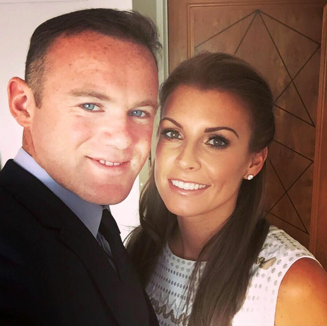 VENTER BARN NUMMER TRE: I går avslørte Wayne Rooney og kona Coleen at de venter sitt tredje barn i januar 2016. Foto: Scanpix