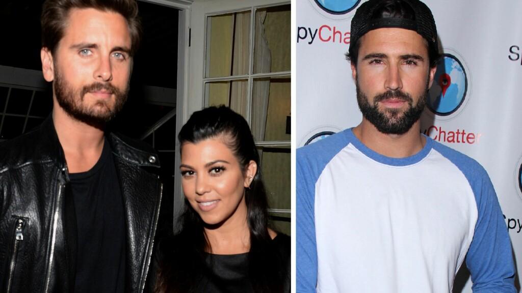 UHELDIGE BILDER: Brody Jenner sier at både stesøsteren Kourtney Kardashian og svogeren Scott Disick er bra folk, men at bildene som nylig dukket opp av Disick og eksen er uheldige. Foto: NTB Scanpix