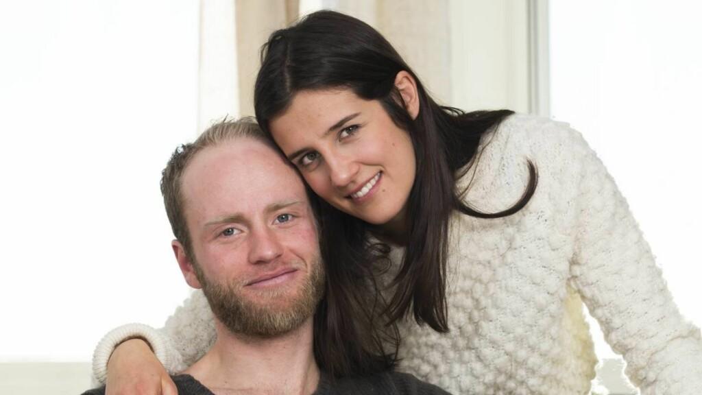 ENDELIG GIFT: Martin Johnsrud Sundby og Marieke Heggeland har vært et par i flere år, og har en liten sønn sammen. I helgen giftet de seg i Dubrovnik i Kroatia, omgitt av nære venner og familie.  Foto: Espen Solli