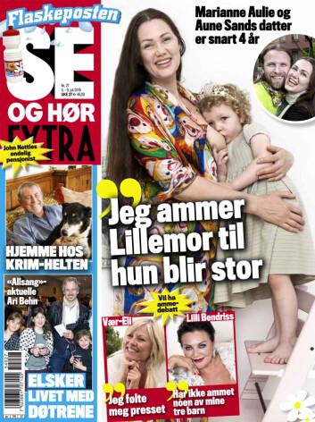 <strong>LES MER:</strong> I nyeste nummer av Se og Hør kan du lese mer om Marianne Aulie og Aune Sand, og se flere bilder av paret og deres datter. Foto: Se og Hør