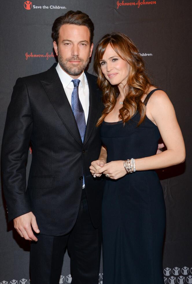 EKSPARET: Her er et bilde av paret før skilsmissen, tatt høsten 2014. Foto: NTB Scanpix