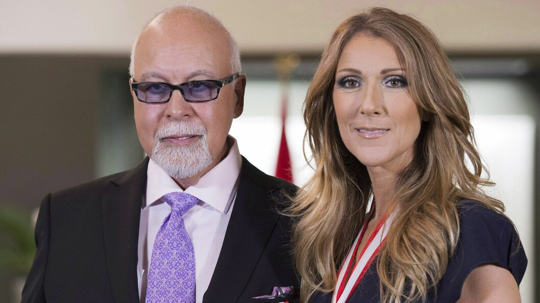 GOD STØTTE: Rene Angelil og Celine Dion har vært gift i 21 år. Den siste tiden har vært preget av sykdom. Bildet av paret er tatt i 2013. Foto: NTB Scanpix