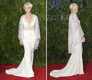 Helen Mirren (69) stjal showet på Tony Awards