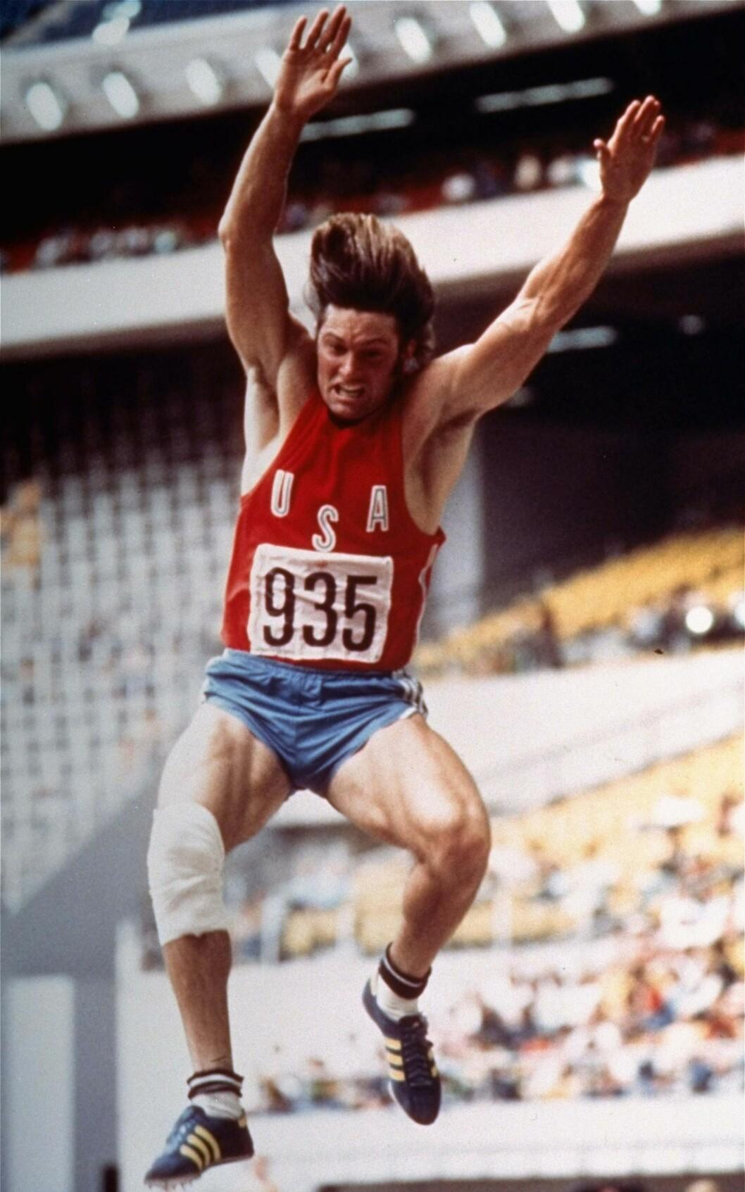 <strong>DEN GANG DA:</strong> I 1976 deltok Bruce Jenner deltok i sommer-OL i Montreal, Canada, og vant gullmedalje i tikamp. Foto: NTB Scanpix