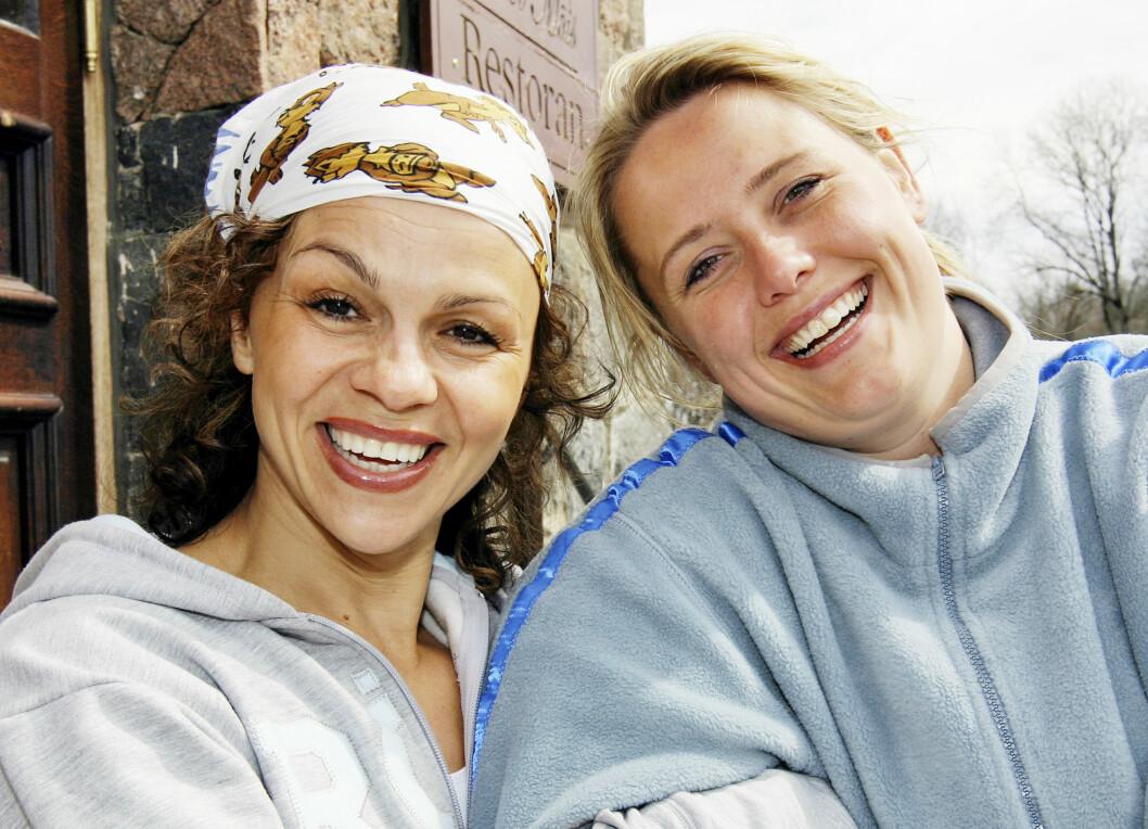 GODE VENNER: Kari Jaquesson og Linda har beholdt vennskapet i de 10 årene som er gått siden Slankekrigen på TV Norge førte dem sammen. Foto: PRIVAT/SE OG HØR