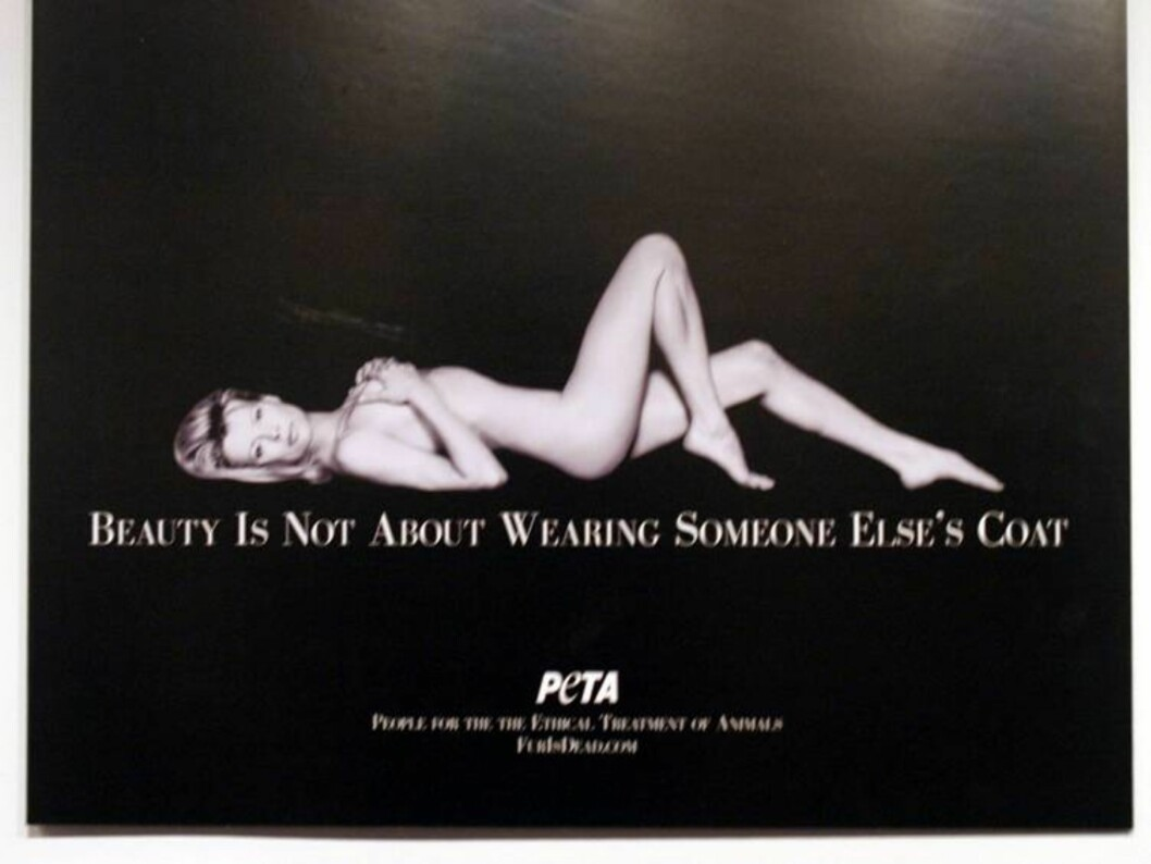 Kim Basinger on a Peta advertisment on display at Peta's Unveiling of new sexy adverts at the New York Museum of Sex. The museum also spotlighted Peta's most iconic naked ads of other celebrities in a retrospective. <P> Picture By Charlie Ans <B>Ref: C Foto: All Over Press