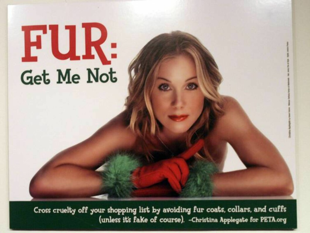 Christina Applegate on display at Peta's Unveiling of new sexy adverts at the New York Museum of Sex. The museum also spotlighted Peta's most iconic naked ads of other celebrities in a retrospective. <P> Picture By Charlie Ans <B>Ref: CANY 220904 B   < Foto: All Over Press