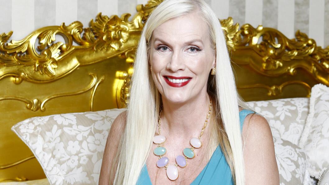 TV-STJERNE: Gunilla Persson har blitt et kjent navn gjennom realityserien «Svenske Hollywoodfruar» og viker sjelden av veien for litt drama. Foto: All Over Press