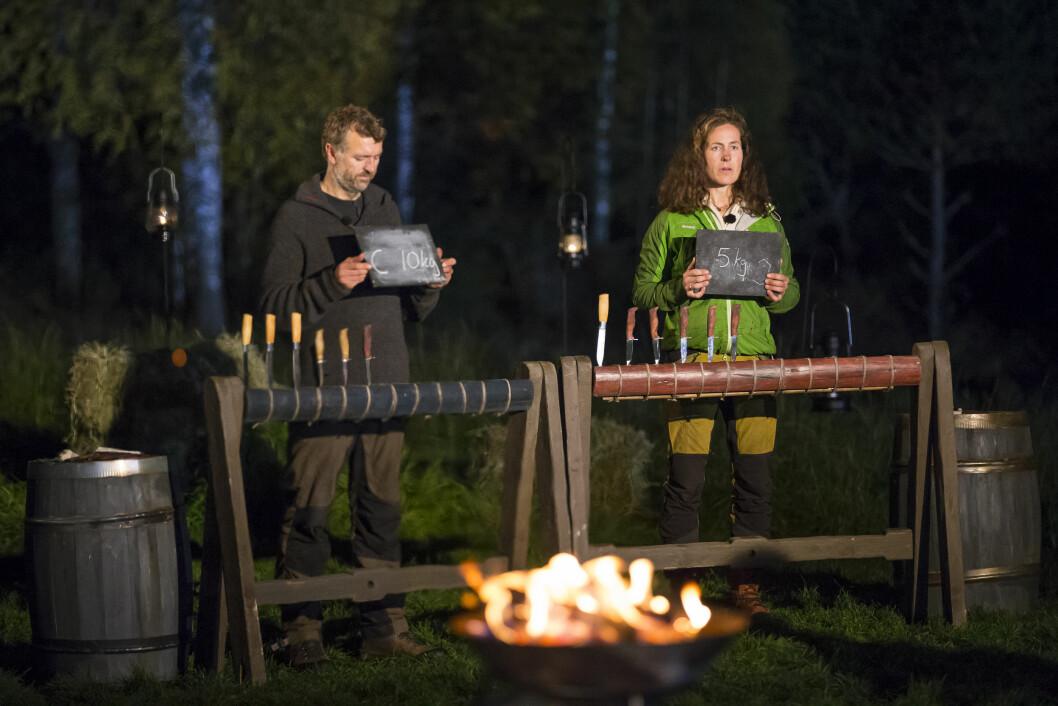 MÅTTE SE SEG SLÅTT: Ulstein ble nummer to i Farmen. Magnhild Vik vant. Foto: Tor Lindseth, Se og Hør