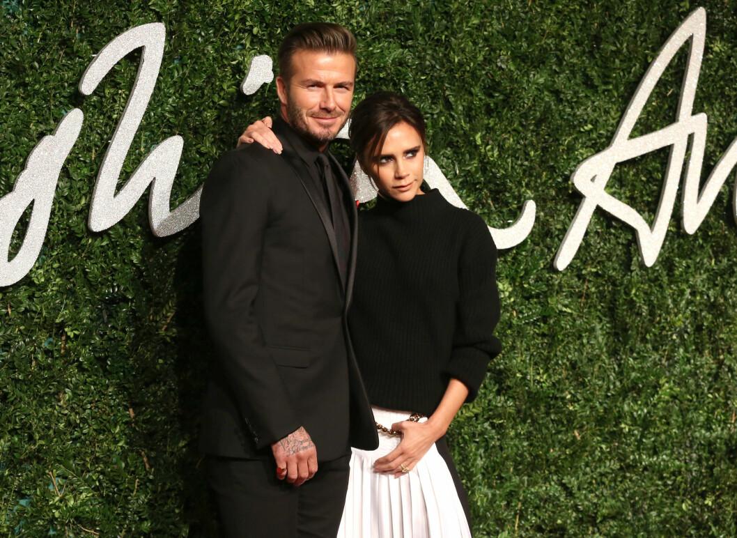 SUPERPAR: David og Victoria Beckham har vært gift siden 1998. Foto: NTB Scanpix