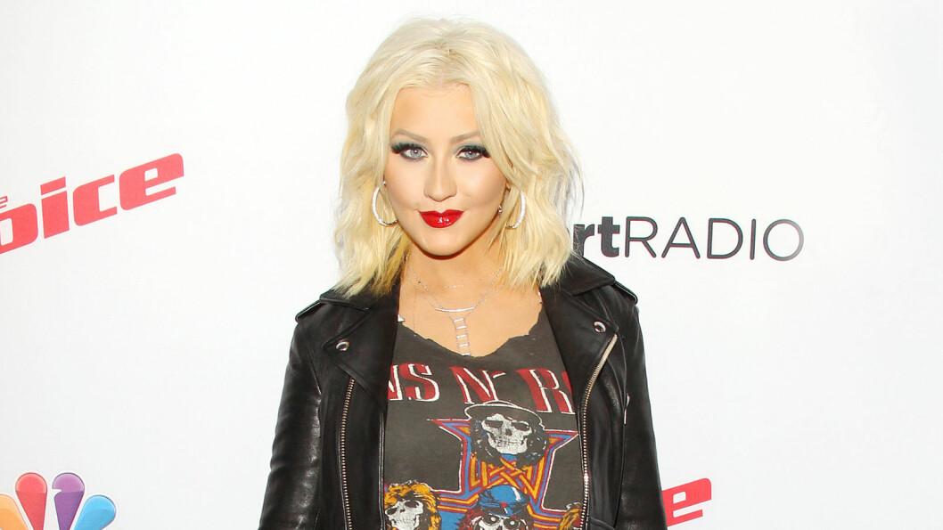 FORMFULL: Christina Aguilera har de siste årene gått opp og ned i vekt.  Foto: NTB Scanpix