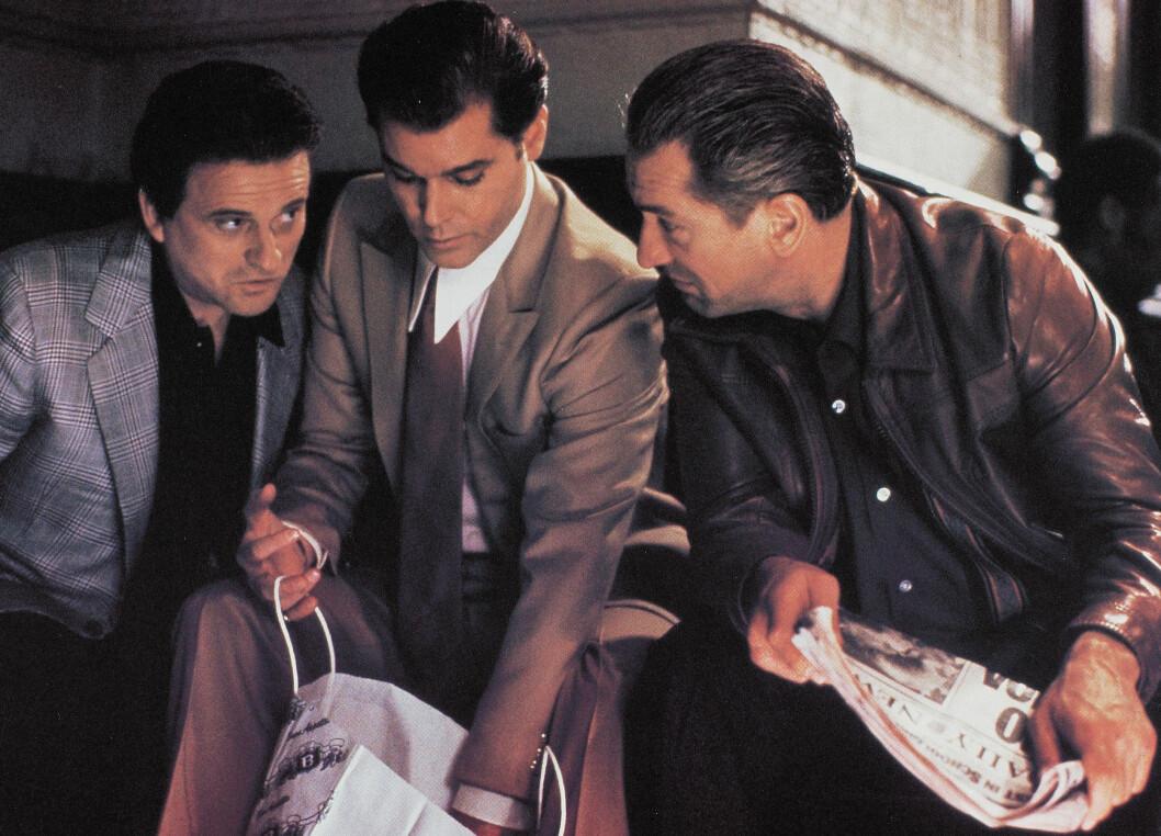 POPULÆRE: Joe Pesci, Ray Liotta og Robert De Niro fikk tusenvis av nye fans gjennom sine roller i filmen «Mafiabrødre» Foto: Scanpix