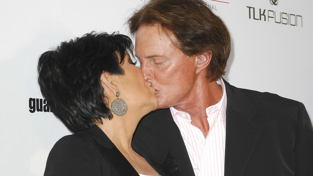 DEN GANG DA: Bruce var gift med Kris Jenner i 22 år, før de i fjor ble skilt. her kliner de til på røde løperen i 2007. Foto: Scanpix