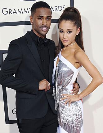BRUDD: Big Sean og Ariana Grande var tidligere et par. Foto: NTB Scanpix