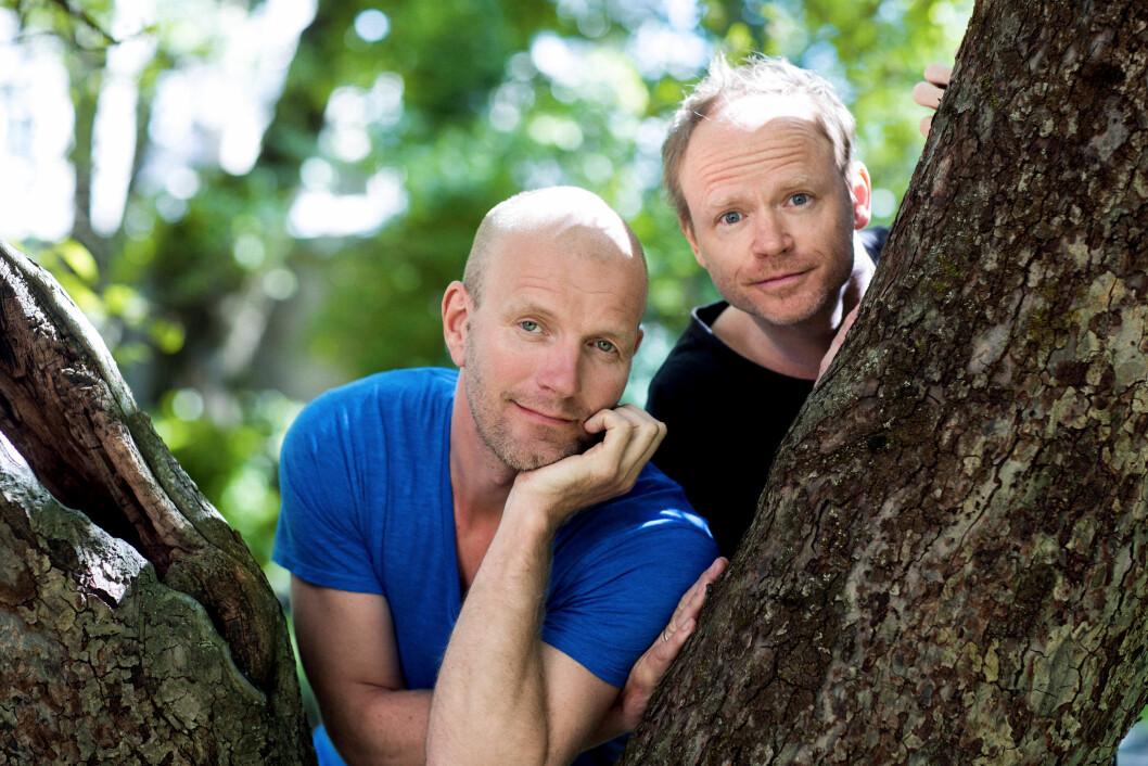 RADARPAR: Sammen med Harald Eia har Bård moret nordmenn i årevis, men i forestillingen «Mann (44)» står Tufte Johansen på egne bein.