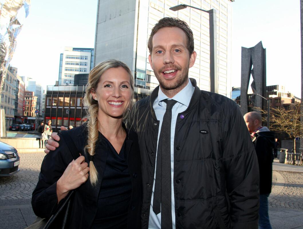 DRØMMEMANNEN: Komiker Morten Ramm giftet seg i fjor med Anette Skarpaas som han da hadde vært sammen  med en rekke år allerede. Foto: FameFlynet Norway