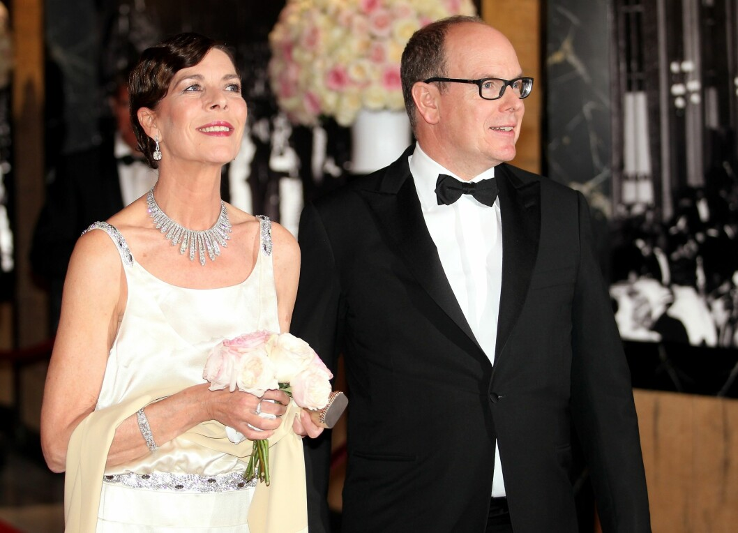 GLAD BESTEMOR: Prinsesse Caroline steppet inn for Charlene under Roseballet i Monaco. Nå er hun blitt bestemor igjen. Foto: Stella Pictures