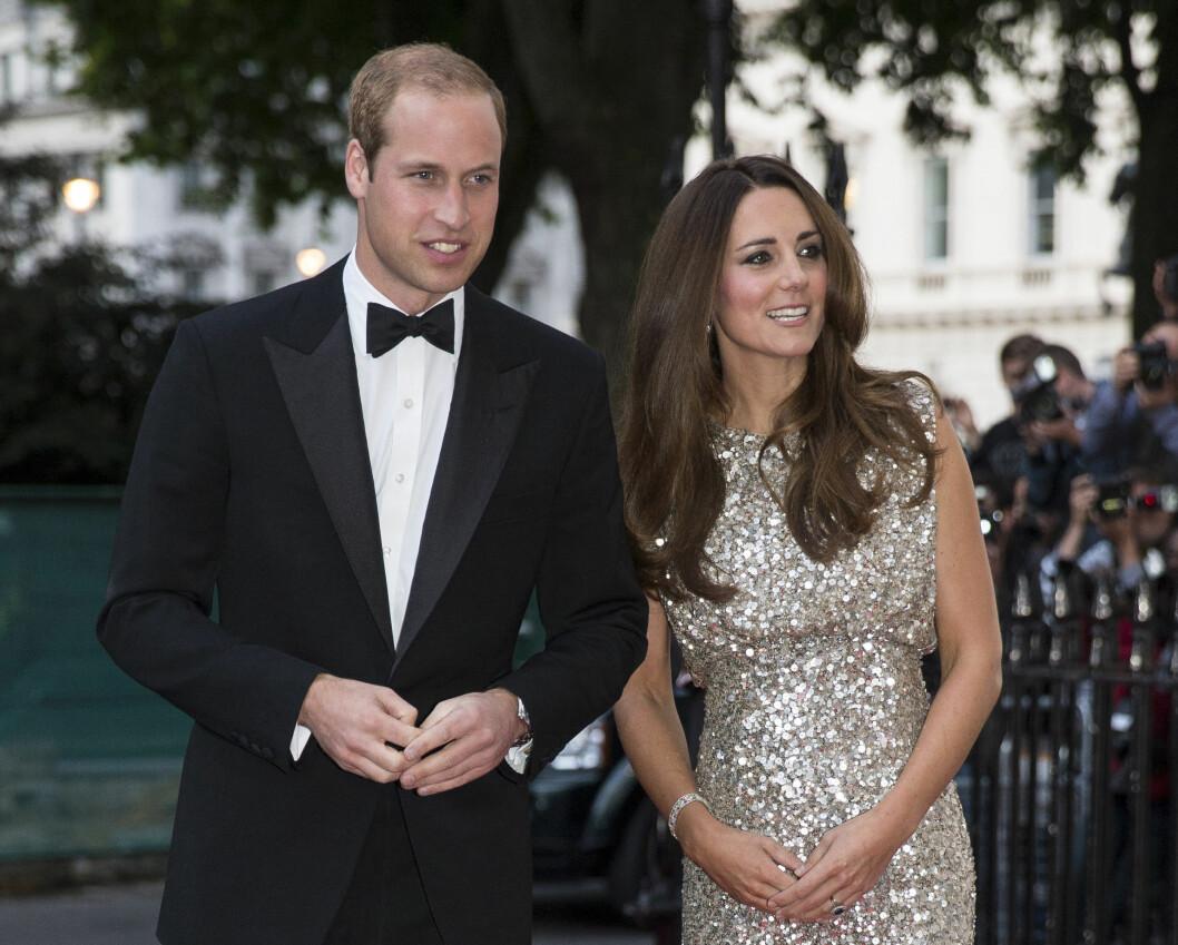 <strong>I FULL VIGØR:</strong> Under to måneder etter at hertugparet ble foreldre for første gang, var Kate med prins William på Tusk Conservation Awards i London i september 2013.  Foto: Reuters