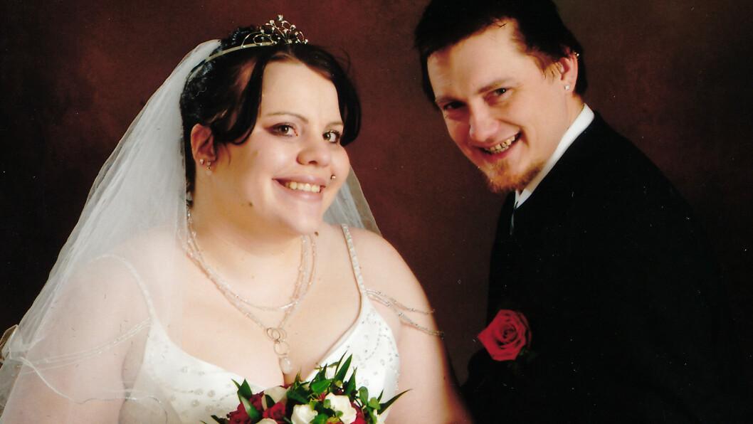 NYGIFT: Janne og Jan Inge Johannessen giftet seg i 2008. Deres store drøm er å bli foreldre.  Foto: PRIVAT/SE OG HØR