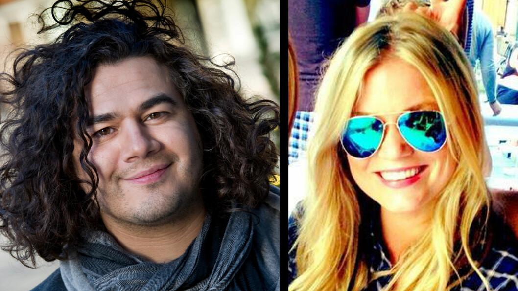 PAR: Den amerikanske artisten Chris Medina har funnet lykken med Oslo-jenta Silje Skylstad. Foto: Scanpix/Privat