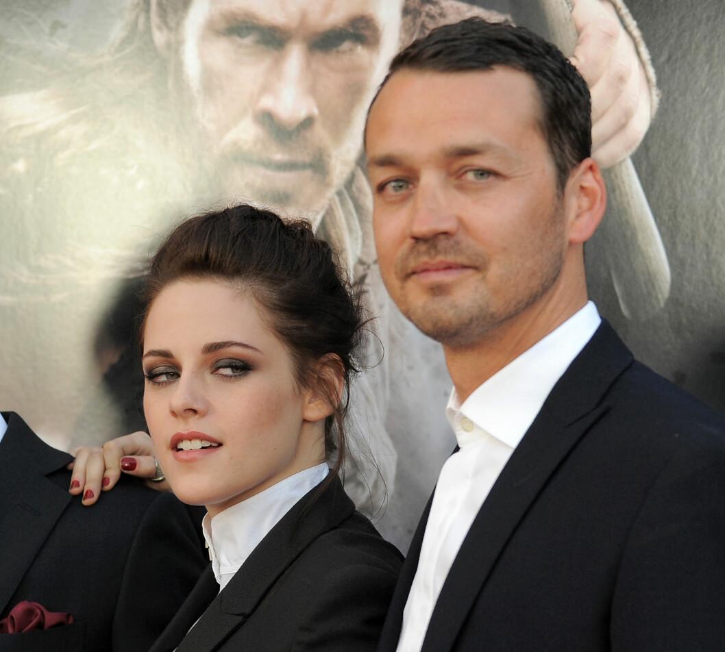 """MISTET ALT: Kristen Stewart og Rupert Sanders innledet et hett forhold mens de jobbet sammen på filmen hans """"Snow White & The Huntsman"""".  Foto: Ap"""