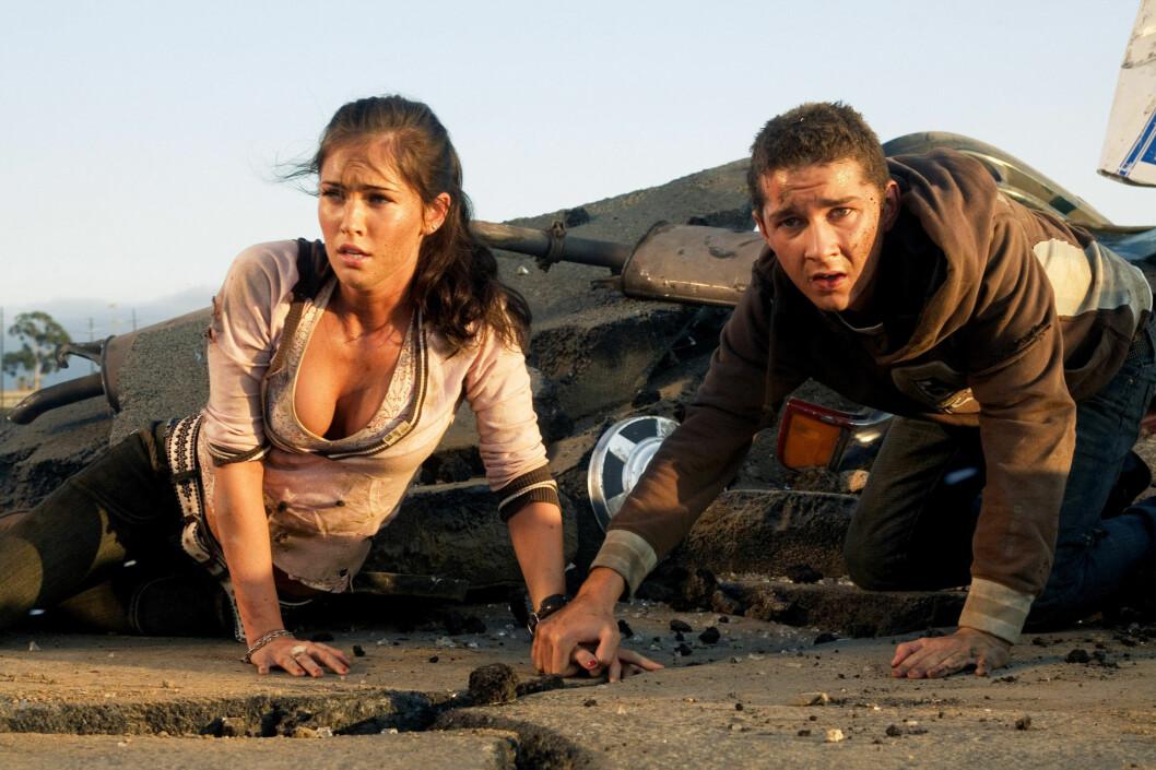 GJENNOMBRUDD: Megan Fox spilte den hotte kjæresten til Shia LaBeouf i de to første Transformers filmene - før hun fikk sparken. Foto: NTBscanpix