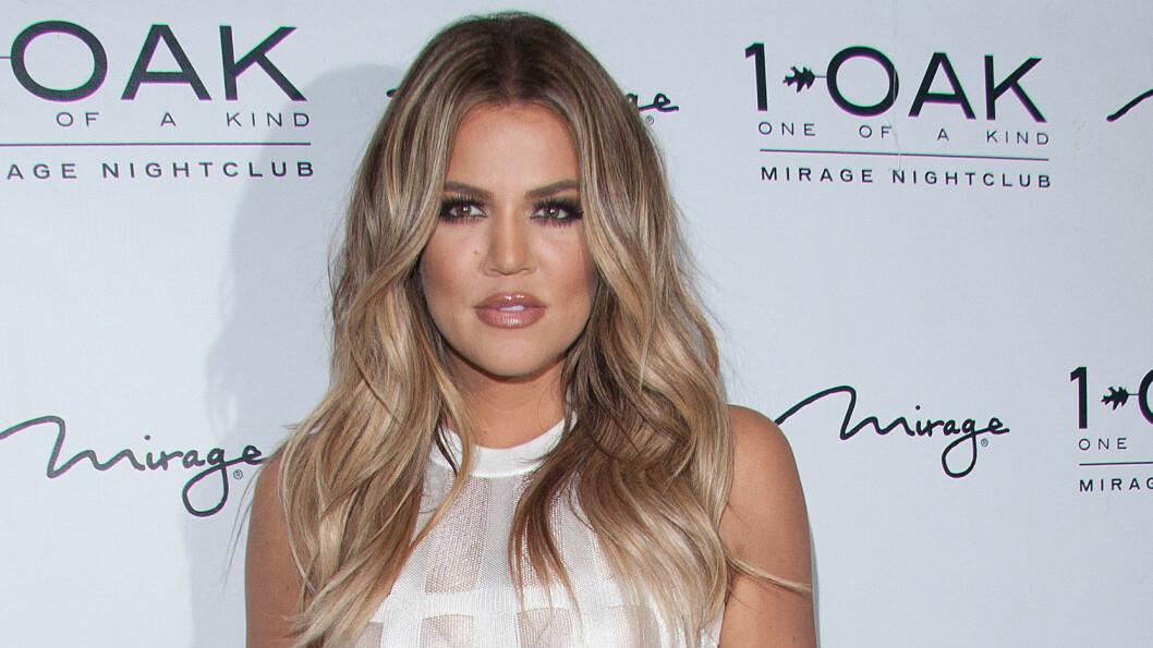 HOT BABE: Khloe Kardashian kastet glans over åpningen av nattklubben 1 OAK i Las Vegas forrige helg.  Foto: Stella Pictures