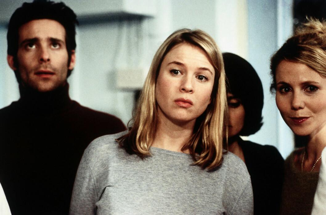 I 2001: Folk flest forbinder nok fortsatt Renée Zellweger aller mest med rollen i «Bridget Jones»-filmene fra starten av 2000-tallet, altså med slik hun så ut for drøye 10 år siden. Hun la også på seg flere kilo for rollen.  Foto: ©Miramax/ Everett Collection/All Over Press
