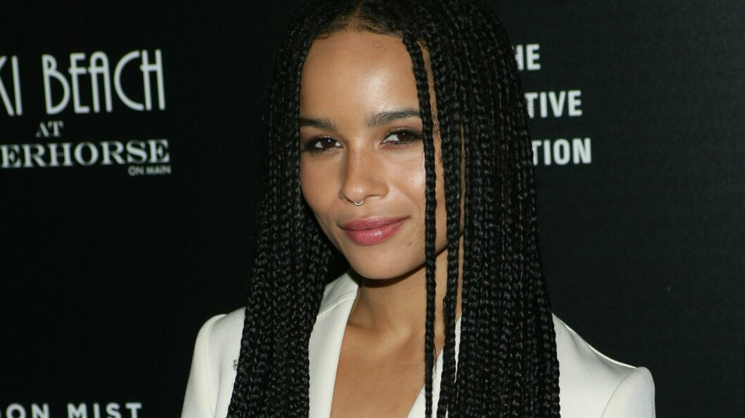 ÅPENHJERTIG: Zoe Kravitz hadde i mange år vanskeligheter med sitt eget selvbilde - slik mange unge jenter i dag har. Foto: James Atoa/Everett Collection                                                                       /All Over Press