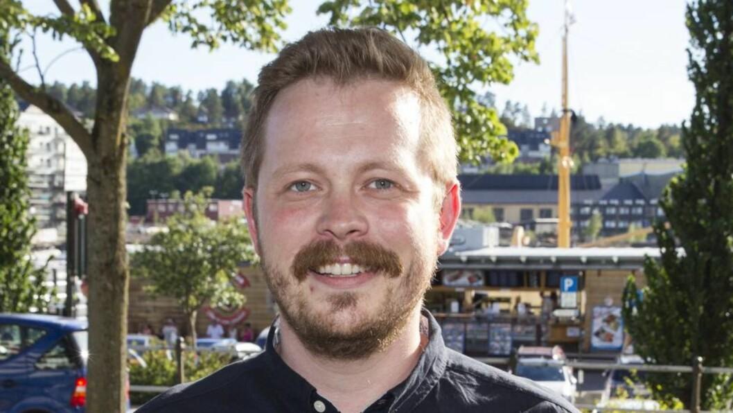 <strong>SUKSESS:</strong> Einar Tørnquist Johansen har premiere på sitt nye program på TV 2 torsdag kveld.  Foto: Andreas Fadum