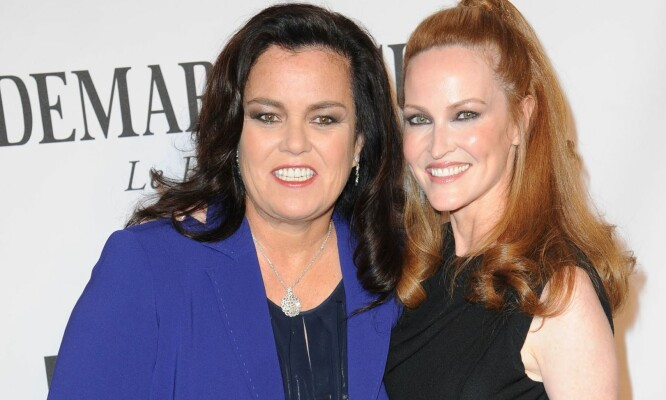 Rosie O'Donnell skiller seg tre år etter bryllupet