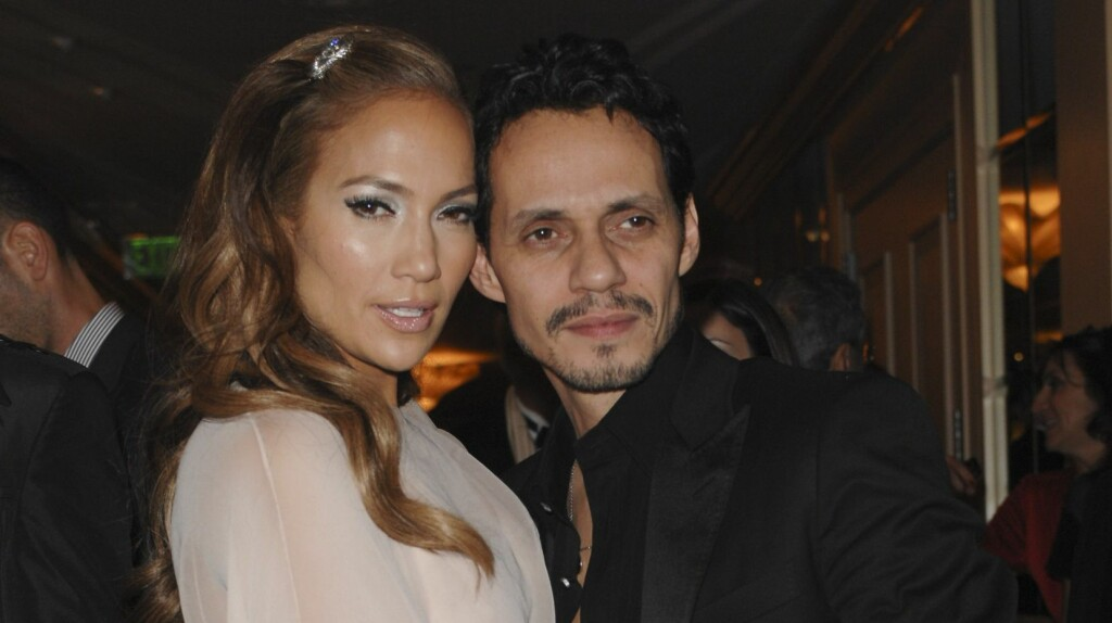 LYKKEN TOK SLUTT: Jennifer Lopez og Marc Anthony var et av Hollywoods heteste par på starten av 2000-tallet.  Foto: All Over Press