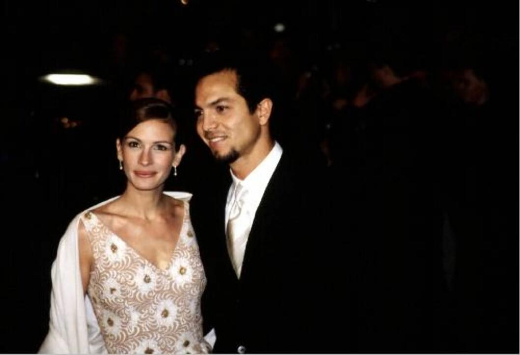 BRUDD ETTER OSCAR: Julia Roberts og Benjamin Bratt. Foto: All Over Press