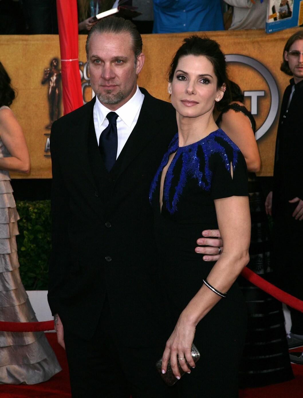 BRUDD ETTER OSCAR: Sandra Bullock og Jesse James. Foto: All Over Press