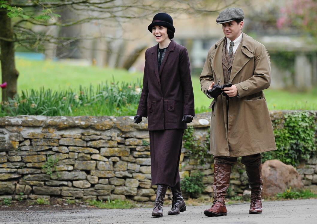 GIFTEKNIV: Allen Leech skal ha introdusert Downton Abbey-kollegaen Michelle Dockery for hennes forlovede for et par år siden. Foto: Wakeham / Splash News/ All Over Press