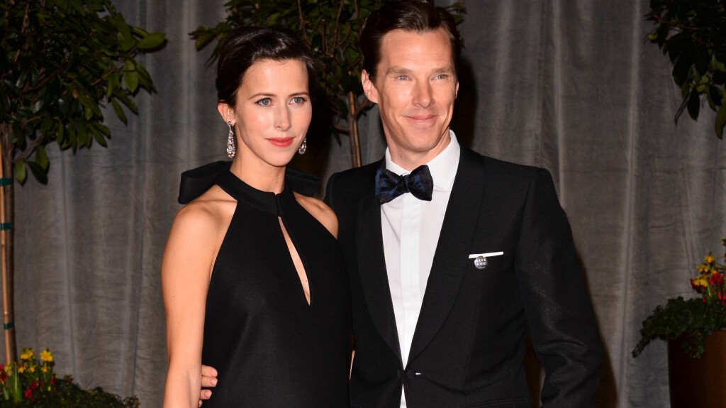GIFTER SEG: Skuespillerparet Benedict Cumberbatch og Sophie Hunter gifter seg i England i dag.  Foto: REX/All Over Press