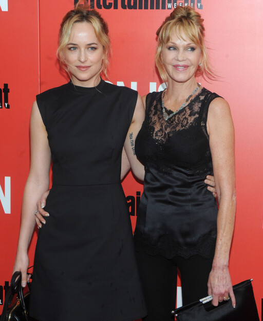 KINO-AKTUELL: Melanie Griffith er svært stolt over skuespiller-karrieren til datteren Dakota Johnson. Foto: All Over Press