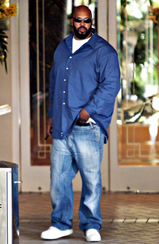 <strong>SINT:</strong> Suge Knight og eks-partner Dr. Dre har hatt en anstrengt tone etter at samarbeidet deres ble oppløst. Ifølge TMZ hevder Knight at det var Dr. Dre som inviterte ham til filmsettet i Compton, der opptakten til den fatale krangelen oppstod.  Foto: Stella Pictures