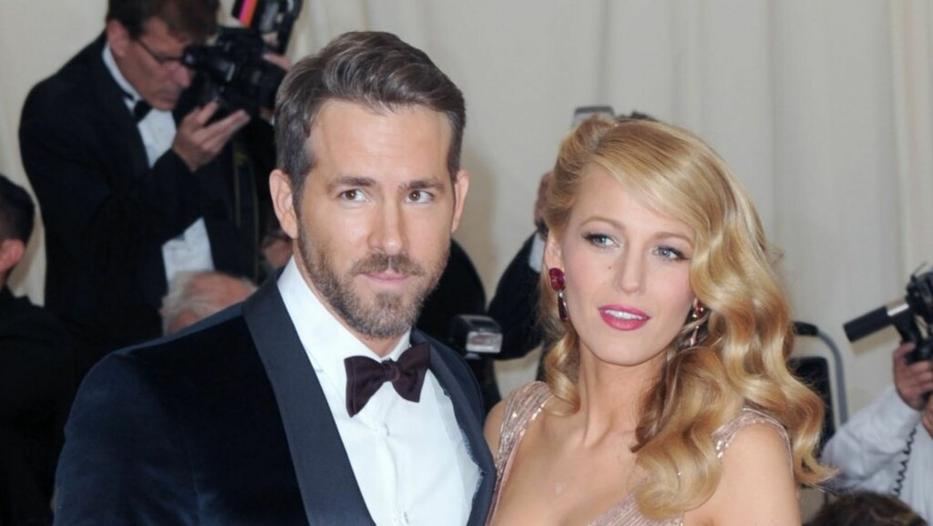FORELDRE: I desember fikk Blake Lively og Ryan Reynolds sitt første barn.  Foto: All Over Press