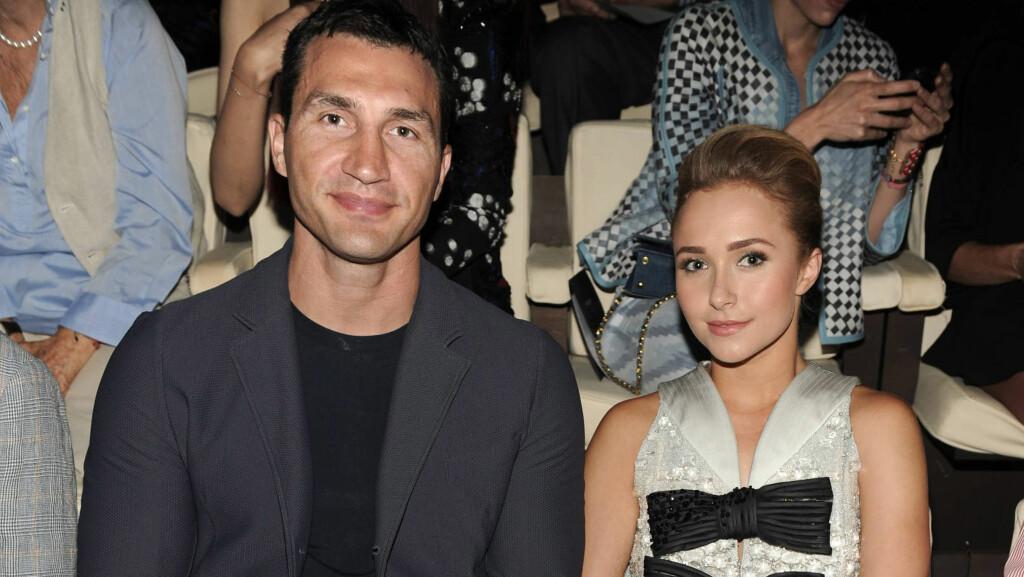 BRYLLUP NESTE: Hayden og Wladimir ser nå frem til å gifte seg. Foto: FameFlynet Sweden