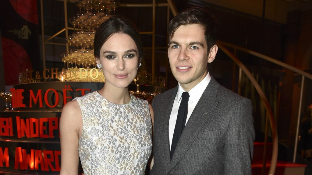 BLIR FORELDRE: Keira Knightley og James Righton. Foto: All Over Press