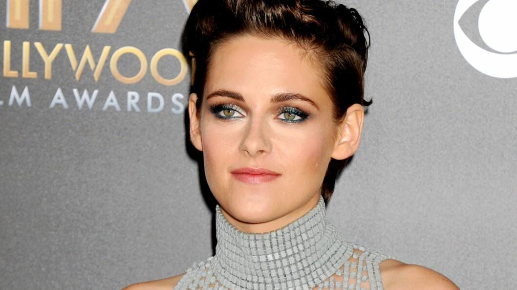 VANSKELIG BALANSE: Kristen Stewart er et ettertraktet navn i filmbyen, men stjernestausen kan være vanskelig å håndtere. Her fra Hollywood Film Awards tidligere denne måneden. Foto: REX/Broadimage/All Over Press
