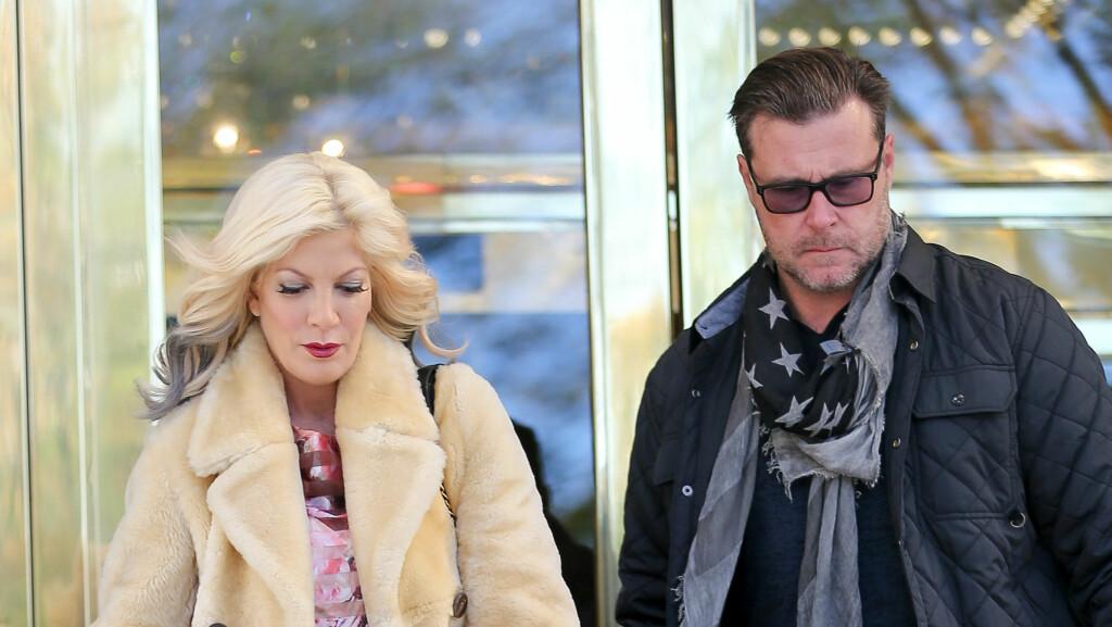 SKILLER LAG PÅ TV: Dean McDermott vil ikke lenger være med realityserien «True Tori» sammen med kona Tori Spelling. Hun vil imidlertid fortsette på egen hånd. Foto: Santi/Splash News/ All Over Press