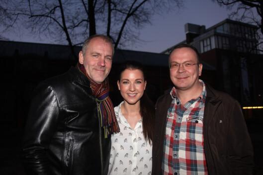SAMARBEIDET: I 2013 gav Ida Gran-Jansen ut kokeboken «Hele Norge baker» sammen med konditorguru Pascal Dupuy og Åpent Bakeri-gründer Øyvind Lofthus, som også er dommere i TV3-programmet. Foto: FameFlynet Norway