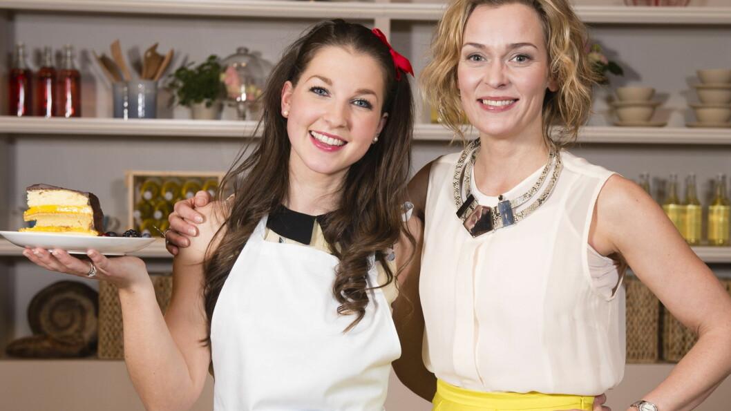 NYTT LIV: Ida Gran-Jansen vant bakekonkurransen «Hele Norge baker», ledet av LIne Verndal (t.h), på TV3 våren 2013. Til Seoghør.no forteller 26-åringen hvordan livet har forandret seg totalt etter seieren. Foto: TV3