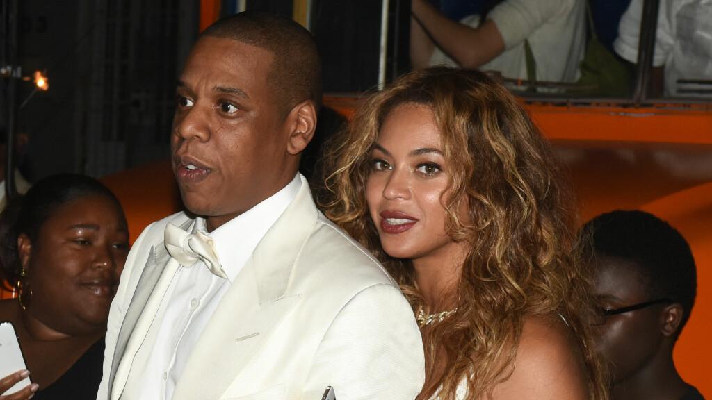 NY SANG: Beyonce Knowles slipper snart en ny låt, med en tekst som får Hollywood-mediene til å spørre om superparet er i ferd med å gå fra hverandre. Foto: INFphoto.com