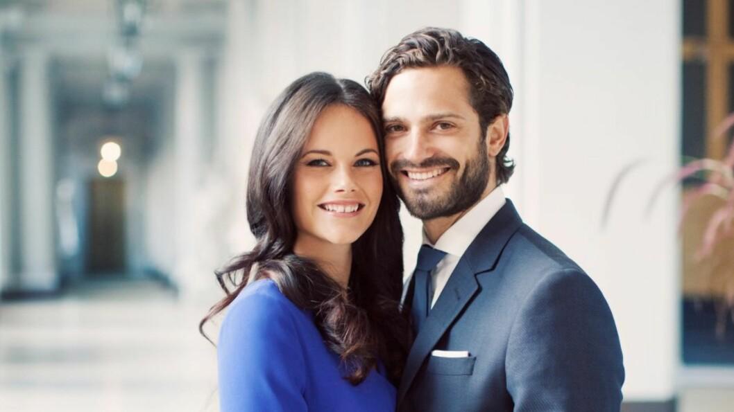 PENT PAR: Tidligere i høst kom det nye offisielle bilder av det forelskede paret. 13.juni står det etterlengtede bryllupet.  Foto: kungahuset.se