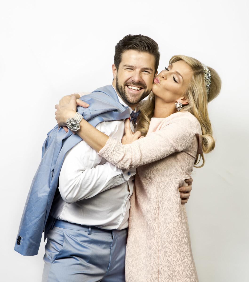 SMASK: Årets best kledde kvinne og mann fant tonen på Se og Hørs fotoshoot.  Foto: Henning Jensen/Se og Hør