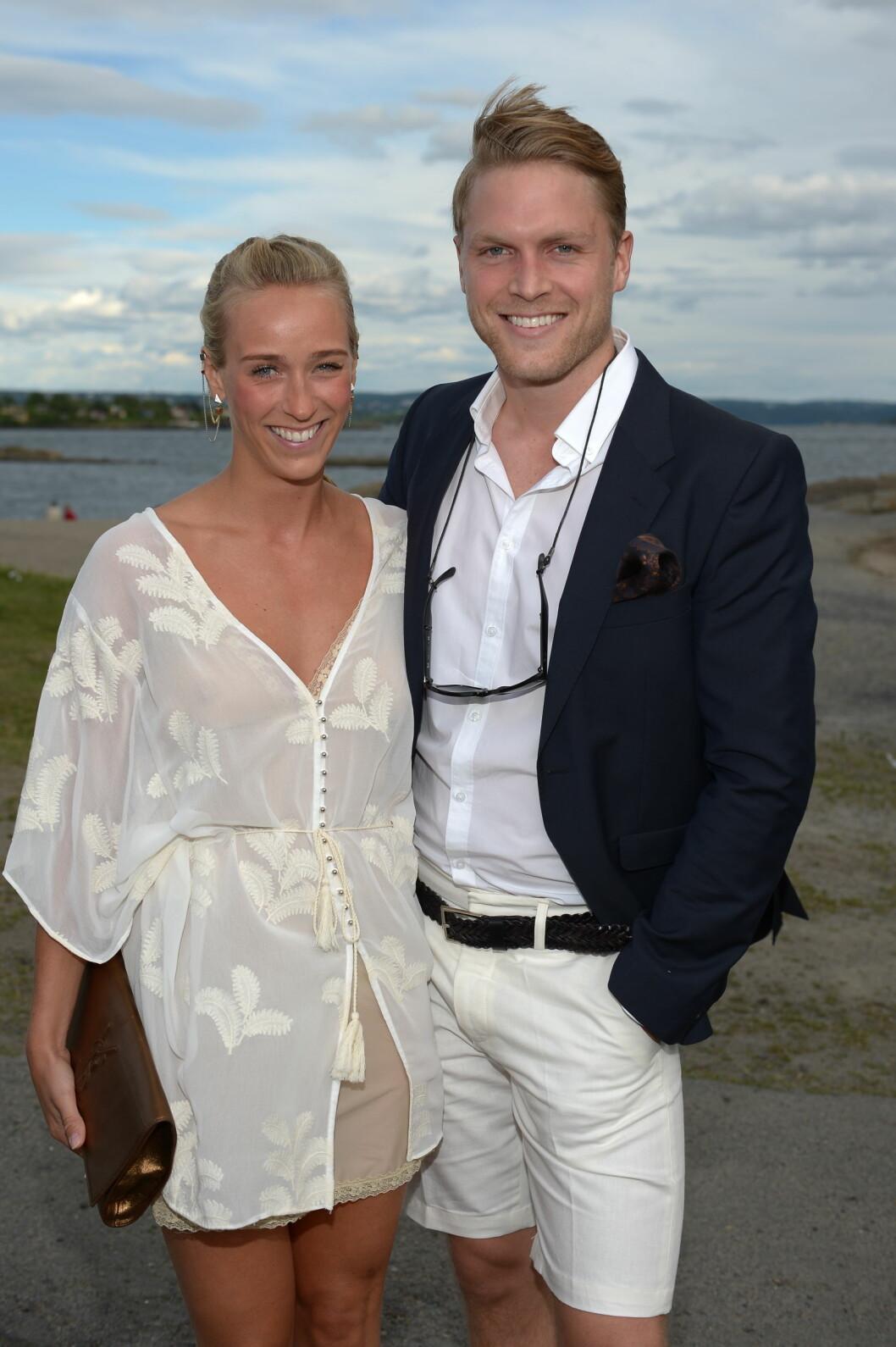 SAMMEN: Katarina Flatland og Harald Dobloug ble et par etter at de møttes på en utedo.  Foto: FameFlynet Norway