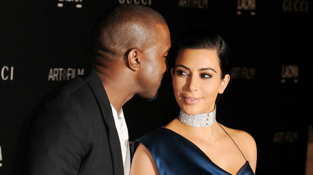 NYTT NAKENBILDE: Kim Kardashian og Kanye West er begge stolte over hennes siste naken-shoot for bladet Paper. Foto: Stella Pictures